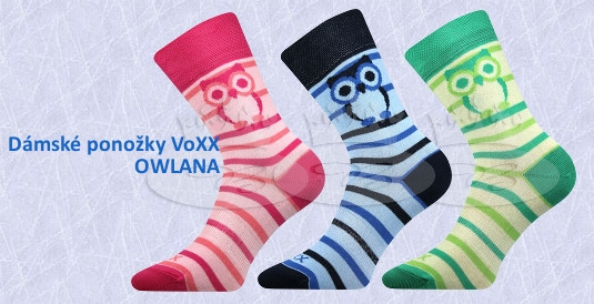 Dámské ponožky VoXX Owlana