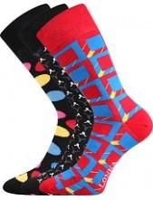 Ponožky Lonka WOODOO mix N - balení 3 páry v barevném mixu