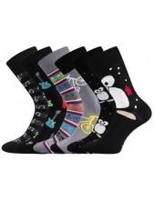 Dámské ponožky Lonka DOBLE mix C