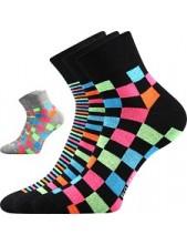 Ponožky Boma JANA 41 - balení 3 páry v barevném mixu