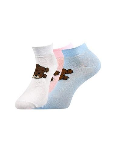 f2efbce1284 Dámské ponožky Boma STELA Mix 15 - balení 3 páry v barevném mixu