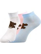 Dámské ponožky Boma STELA Mix 15 - balení 3 páry v barevném mixu