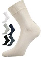 Společenské ponožky Lonka HANER - 98% bavlny, i nadměrné velikosti