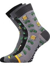 PIVOXX III sportovní ponožky VoXX - balení 3 páry