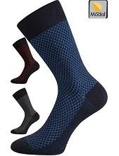 Ponožky Lonka MARCIUS z bukového vlákna - balení 3 stejné páry