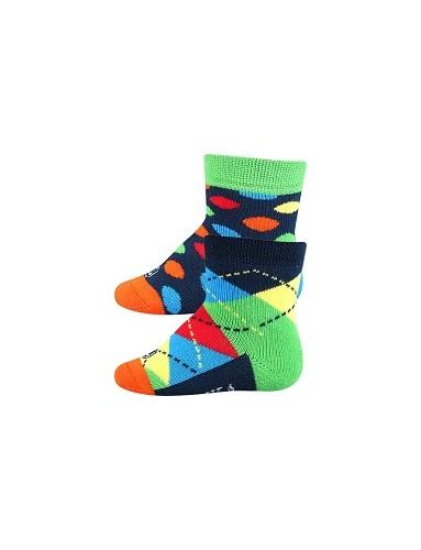 WOODINEK kojenecké ponožky Lonka, Mix A kluk
