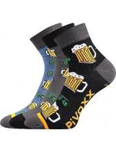 PIFF 01 sportovní ponožky VoXX pivo - balení 3 páry