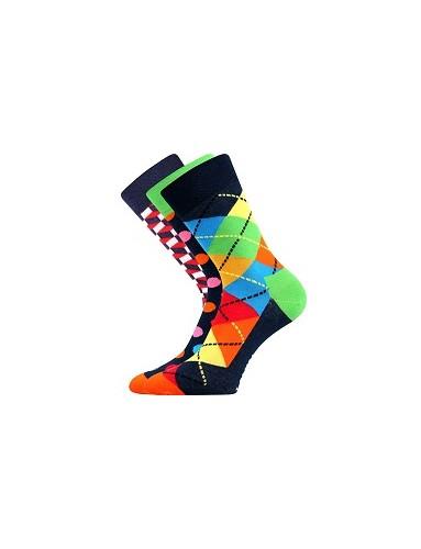 Ponožky Lonka WOODOO mix A, balení 3 páry