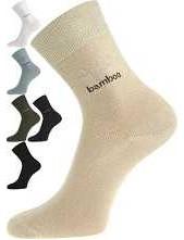 KRISTIÁN bambusové ponožky, béžová