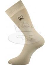 Ponožky Lonka Delongr béžová
