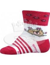 Ponožky Boma kojenecké Jonáš Mix A magenta