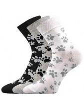 Ponožky Boma Xantipa Mix 50 - balení 3 páry v barevném mixu