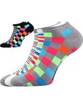 Ponožky dámské Boma Piki 49 - balení 3 páry v barevných mixech