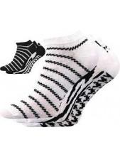 Dámské ponožky Boma PIKI 34 - balení 3 páry v barevném mixu