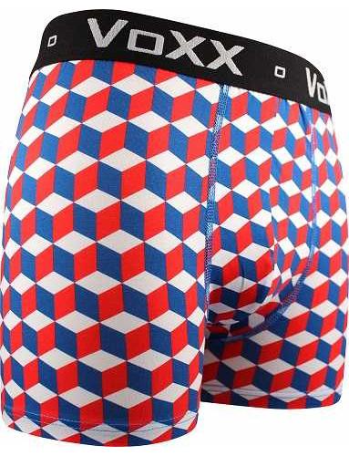 Pánské boxerky VoXX KVIDO II VZOR, červená