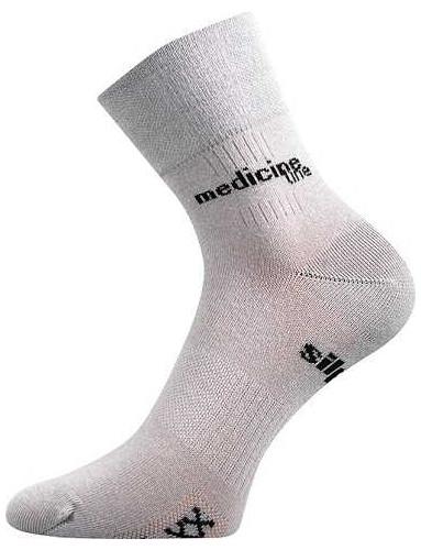 MISSION Medicine sportovní ponožky VoXX, světle šedá