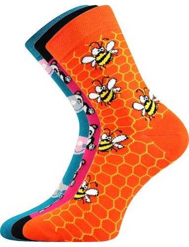 Dětské ponožky Boma 057-21-43 VIII, D-holka