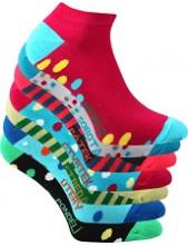 Ponožky dámské Boma PIKI WEEK - balení 7 různých párů