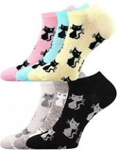 Dámské ponožky Boma Piki 55 - balení 3 různé páry