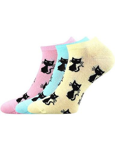 Dámské ponožky Boma Piki 55, mix A