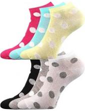 Dámské ponožky Boma Piki 56 - balení 3 různé páry