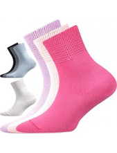ROMSEK dětské 100% bavlněné ponožky Boma, mix holka