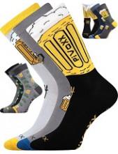 Ponožky VoXX PIVOXX, balení 3 páry v barevném mixu