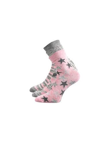 Dětské ponožky Boma IVANKA - balení 3 páry v barevném mixu