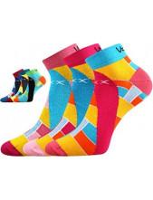 Ponožky VoXX MAXIM 03 - balení 3 páry v barevném mixu