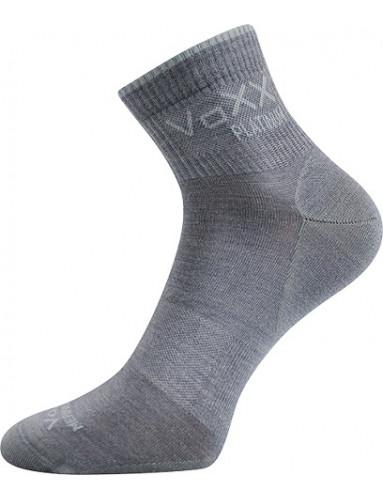 Ponožky VoXX RADIK s merino vlnou, světle šedá