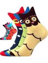 Ponožky Boma XANTIPA 34-3D - balení 3 páry v barevném mixu