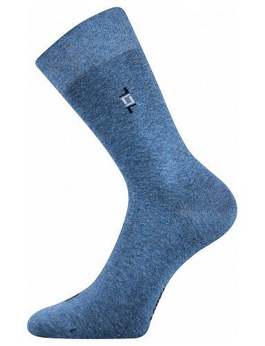 Společenské ponožky Lonka DESPOK, jeans melé