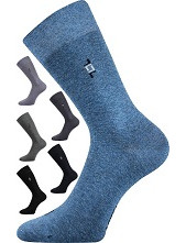 Společenské ponožky Lonka DESPOK - balení 3 stejné páry