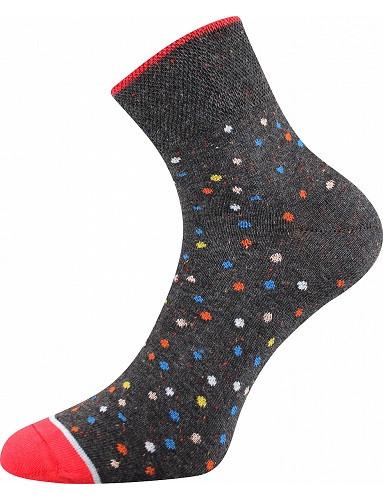 Ponožky Boma JANA 48, antracit