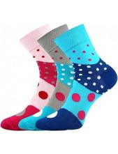 Ponožky Boma IVANA 53 - balení 3 páry v barevném mixu