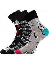 Ponožky Boma IVANA 54 - balení 3 páry v barevném mixu