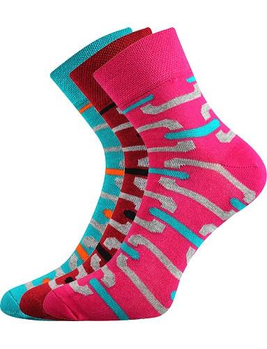Ponožky Boma JANA 49, mix B