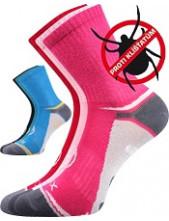 Dětské sportovní ponožky VoXX OPTIFANIK 03 - balení 3 páry v barevném mixu