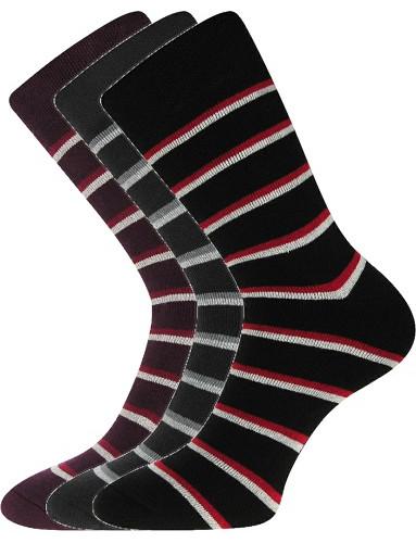 Ponožky Boma PRUHANA 05, mix A