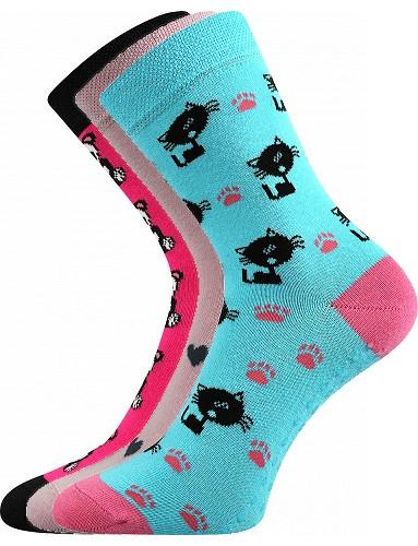 Dětské ponožky Filip ABS, mix B holka