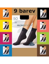 Dámské ponožky Boma MICROsocks v 9 barvách
