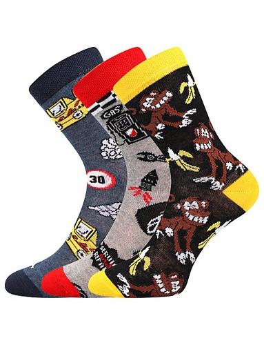 Dětské ponožky Boma 057-21-43 IX, mix B kluk