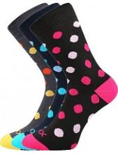 Ponožky VoXX OFÉLIE - balení 3 páry v barevném mixu