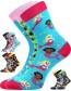Ponožky Boma Filip 01 ABS, balení 3 páry