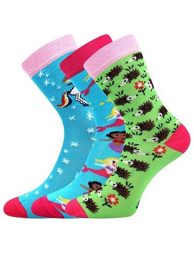 Ponožky Boma Filip 01 ABS, mix C/holka