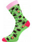 Ponožky Boma Filip 01 ABS, mix C/holka, ježci