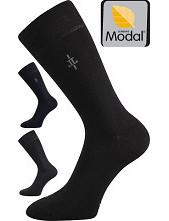 Ponožky Lonka MOPAK MODAL z bukového vlákna - balení 3 stejné páry