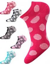 Dámské ponožky Boma DUO 02 - balení 2 různé páry