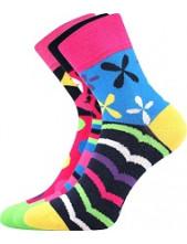 Ponožky Boma IVANA 57 - balení 3 páry v barevném mixu