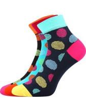 Ponožky Boma JANA 50 - balení 3 páry v barevném mixu
